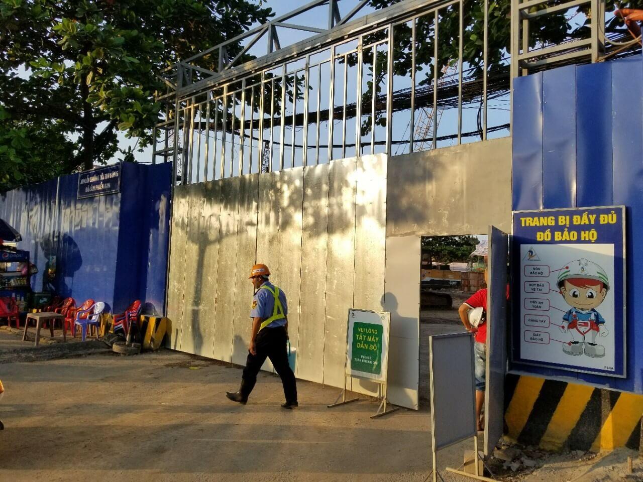Mặt tiền dự án 152 Điện Biên Phủ